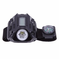 Fashion Design Outdoor Sports LED Flashlight WristWatch Men LED Display Rechargeable Lamps Watch Flashlight Torch