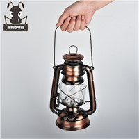 Shipping retro outdoor lighting 18650 battery charging portable LED emergency camping tent decoration kerosene lantern SD17