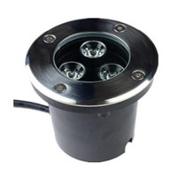LED Underground Light 3x3W Buried Recessed Floor Inground Yard Path Landscape Lamp Outdoor Lighting AC85-265V/DC12V