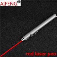 AIFENG  5mw red Laser Pointer Powerful Laser Pen Light Point Presenter Remote Lazer Pointer tease dogs  cats Body Color white