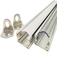 LED Bar Lights LED luces Strip DC12V SMD 5730 8520 4014 2835 5050 50cm with U Aluminium Shell + PC Cover For Cabinet 5pcs/lot