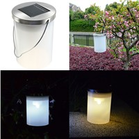 Solar Power Waterproof IP65 Hanging Lantern LED Light 2V 60mA Solar Panel Landscape Path Garden Camping Decoration Droplight