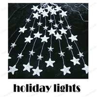 Star String Lighting LED Fairy Lights Christmas Wedding romantic decoration
