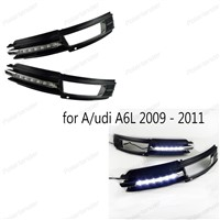 Super bright Daytime running lights for Audi A6L 2009 - 2011 car DRL