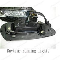 Daytime running light for Benz ML350 Fog lamp Fog light Car styling12V 6000k LED