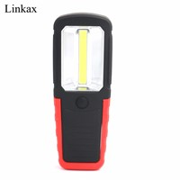 LED Flashlight Night Light LED Torch Lantern Work Light Portable COB LED Work Light Camping Bicycle Lamp with Hook and Magnet