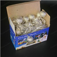 2017NEW 20 LED Colorful Ball String Lights  Party Wedding Christmas string LED Home Decoration