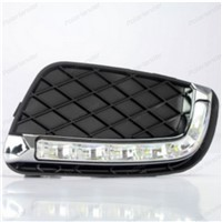 HOT For M/ercedes B/enz Smart 2008-2010 Daylight Car LED DRL Daytime Running Lights car styling