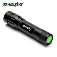 High Quality Skywolfeye Brand Outdoor Flashlight XPE LED 18650 Tactical Flashlight Zoomable Aluminum Alloy Flashlight