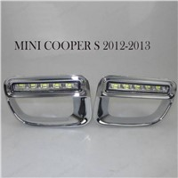 Daytime Running Light for B/MW 12V Waterproof ledM/ini C/ooper DRL Fog Lamps