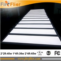 4pcs/lot dimmable square led panel 600*600mm bedroom luminaire 40w 50w led ceiling lamp 300*1200mm built in led light 60*120cm
