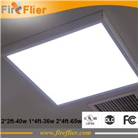 4pcs/lot UL DLC FCC led panel light 36w 40w 65w square panel lamp 1*4ft 2*2ft 2*4ft 600*600mm 300*1200mm 600*1200mm USA Canada