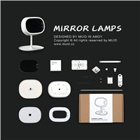 6000-6500K Cosmetic Mirror LED lamp Make up mirror led touch table lamp usb led Charge Multi-function mirror Bedside night light