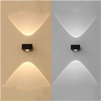 Outdoor waterproof wall lamp, high-end aluminum wall sconce, modern bracket light