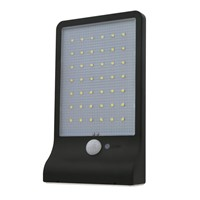 42 Buman Body Induction LED Solar Energy Wall Lamp High-Tech Second Memory Block Light Switch