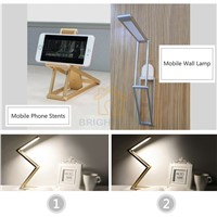 Novelty Style 150LM Eye Protection USB Rechargeable LED Desk Lamp Folding Flexible Light 3W Energy Saving Lamp For Children Gift