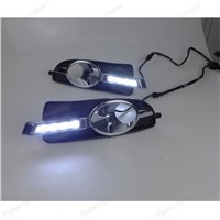 Car LED Day Driving Light Fog Lamp for B/uick L/aCrosse 2008-2012  DRL Daytime Running Lights