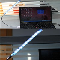 USB Super Bright 10 Led Desk Lamps for Notebook PC With Any-angle adjustment
