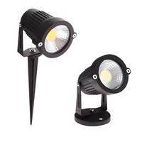 3W 12V Aluminum Wedge COB Led Lawn Light 3W AC 12V Garden Spot Lamp Spike Landscape LED Outdoor