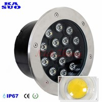 15W LED Underground Light AC85-265V DC12V Outdoor Ground Garden Path Floor IP67 Buried Recessed led light deck
