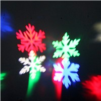 Waterproof Snowflake Laser LED Outdoor Landscape Light Garden Projector Christmas Festival Light #LO