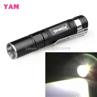 Waterproof 2000LM Pocket LED Flashlight 3 Modes Zoomable LED Torch Mini Penlight #G205M# Best Quality