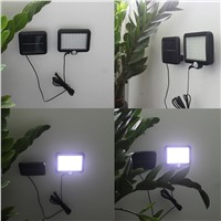 56 LEDs Solar Light Outdoor LED Solar Powered Garden Lights PIR Body Motion Sensor Solar Floodlights Spotlights Lamp bulbs