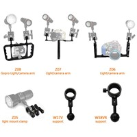 ARCHON Z01  Z02 Z03 Z04 Z05 Z06 Z07 Z08 Z09 Z10 Z11 Mount  Bracket Professional  Camera underwater photography diving arm