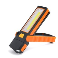 1PC Super Bright COB LED Work Light Inspection Lamp Hand Torch Magnetic Working Lamp with Hand Hook Flashlight