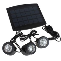 Thrisdar 18Leds RGB Outdoor Solar Garden Spotlight IP68 Waterproof Solar Panel led Floodlight Garden Landscape spotlight