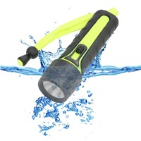 LED Waterproof Diving Flashlight Torch Under Water 10M Diving LED Flash Lamp Torche Lanterna Linternas By 4xAA For Dive Camping