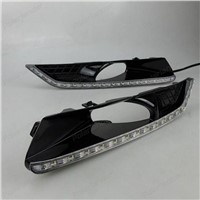 BOOMBOOST AUTO FOG LAMPS Daytime running lights for Honda Crosstour 2011-2013 Car styling