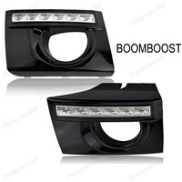 BOOMBOOST For Hyundai Tucson 2005-2009 daytimre running lights Car styling 2 pcs accessory drl led