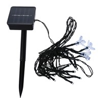 Solar Power 20 LED String Fairy Lights Outdoor Party
