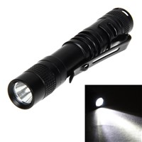 LED Mini Pen Flashlight  XPE-R3 LED 1000 Lumens Torch Flashlight With Clip Work Torch Flashlight Led Light