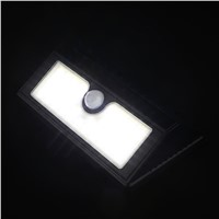 2835 45 LED Solar Power PIR Motion Sensor Wall Light Waterproof Bright