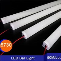 50PCS/Lot 1M LED Bar light 5730 V Shape Corner aluminum profile with Curved Cover, Wall Corner Light DC12V, LED Cabinet Light