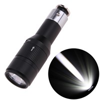 Mini Q5 LED Flashlight with Built-in Charger for Cycle Car Outdoor