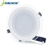 OSIDEN LED Recessed Panel Light 6W 9W 12W 18W 24WSMD5630 Celing Lamp Round Spot Lights LampsLED Panel Downlight With Glass Cover