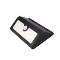 2835 45 LED Solar Power PIR Motion Sensor Wall Garden Light Waterproof