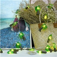 Coconut trees Led light string decoration,DIY creative romantic background decorative,holiday festival Christmas party light