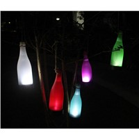 Viosliteled  5 pcs/lot Outdoor Solar Bottle Hanging Lamp Courtyard Droplight Garden Lawn Lamp Landscape Light