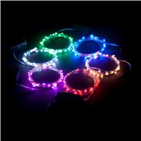 6M 60 led string light 3 AA Battery Powered Decoration LED for Wedding Christmas,Party garland led lights outdoor Fairy Lights