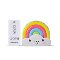 Colorful LED Rainbow Night Light Decorative Lights Baby Bedside Lamp Children Toy Christmas Gifts with remote controller