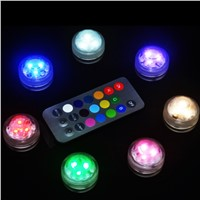 10PCS Waterproof LED candles Home Decor fish tank Water Lighting light Eco-friendly party wedding electronic candle diving light