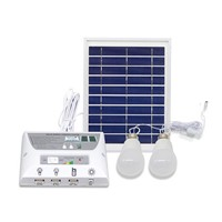 Portable Solar Panel Energy Kit Night Light Kit For Indoor Emergency Outdoor Hiking Camping Tent Fishing AL