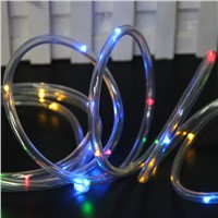 Excellent Quality 7M 50 LED Solar Rope Tube Led String Strip Fairy Light Outdoor Garden Party Decor Waterproof New