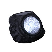 4 LED Solar Decorative Rock Stone Lights Outdoor Garden Yard Lawn Lamp Pure Handmade Creative Imitation Stone Solar Power Lamp