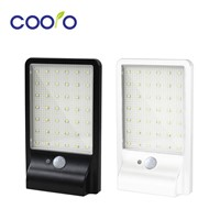 2Pack 500LM 42led Solar Lamp Outdoor Waterproof Motion Sensor Detector Lamp Sconces Lighting Garden Wall Lamp