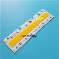 220V 100W white 160x45mm LED Floodlight COB Chip, Integrated Smart IC Driver 1X